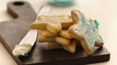 Holiday Star Sugar Cookies