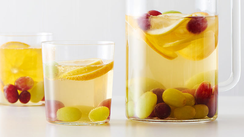 Non-Alcoholic White Grape Spritzer