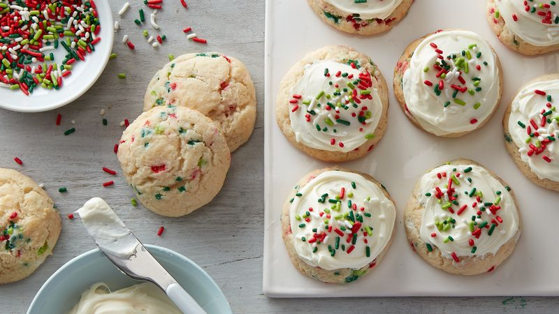 Confetti Cake-Mix Cookies