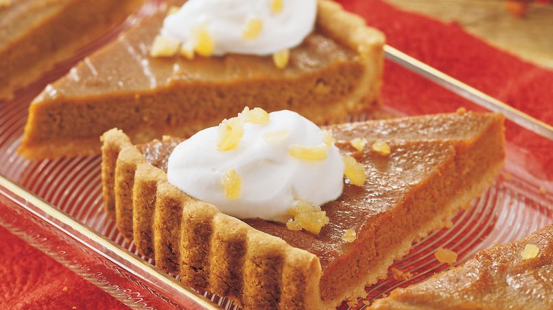Ginger-Pumpkin Tart