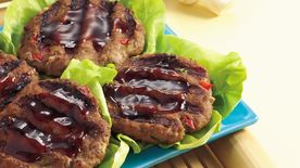Grilled Asian Turkey Patties
