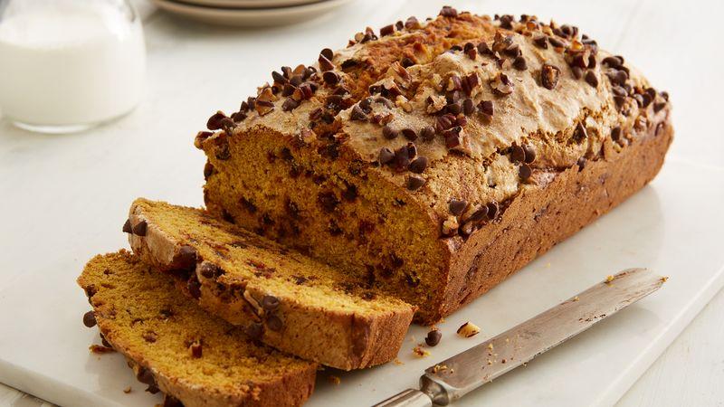 Chocolate Chip Pumpkin Bread Recipe - BettyCrocker.com