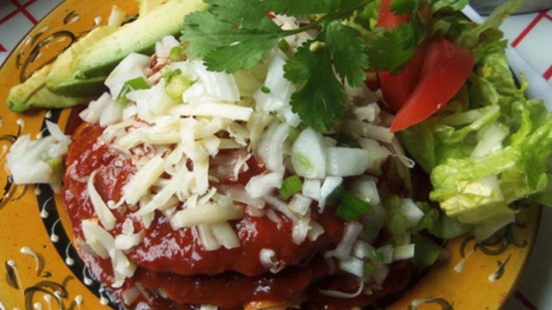 Enchiladas Sonorenses