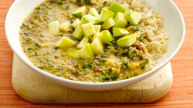 Gluten-Free Mulligatawny Soup with Kale