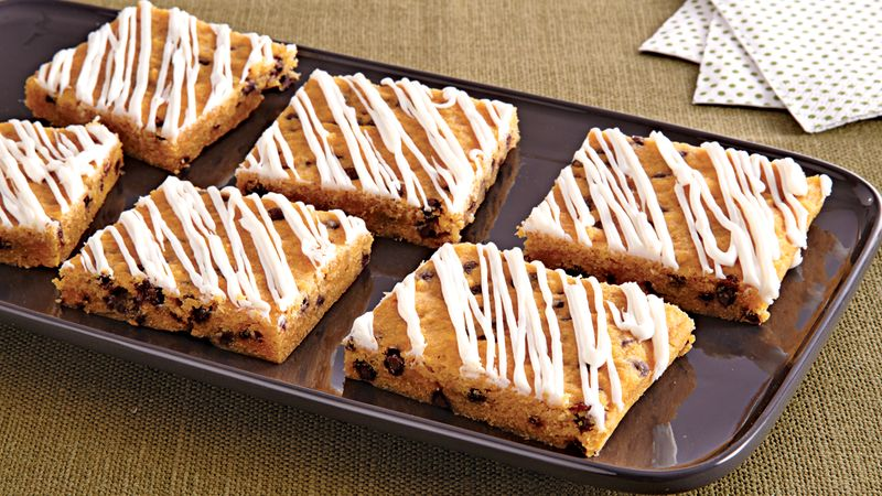Pumpkin Cookie Bars