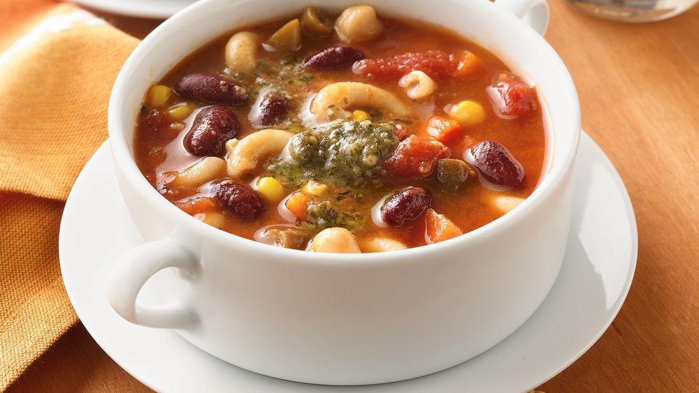 Two-Bean Minestrone