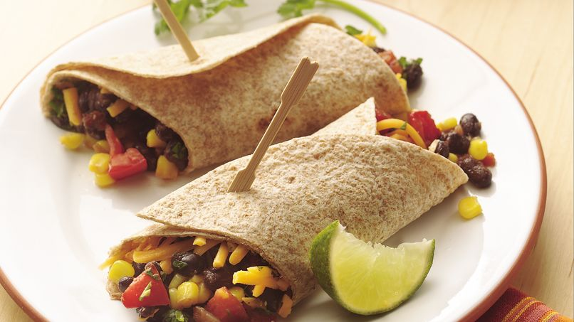 Black Bean Soft Tacos