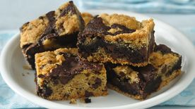 Gluten-Free Cookie Brownie Bars