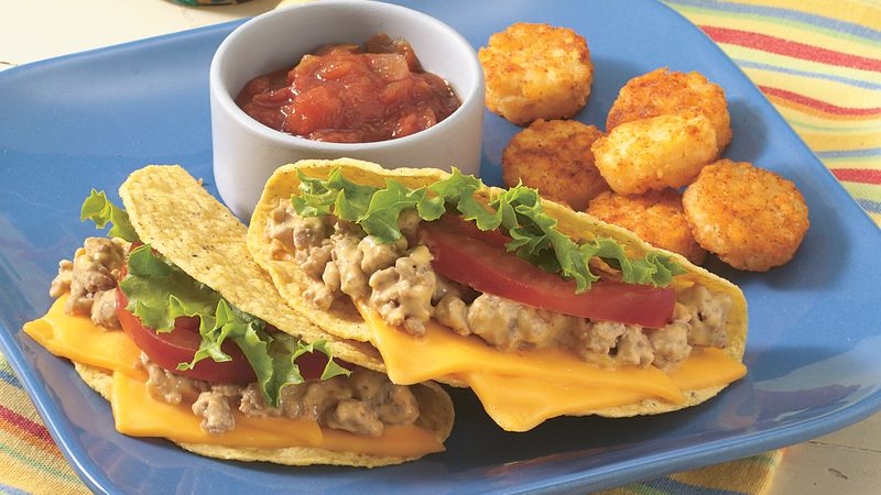 Taco Potato Rounds