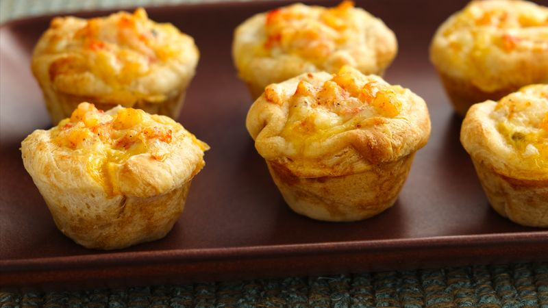 Creole Shrimp and Cheese Cups