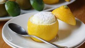 Lemon-Lime Souffles