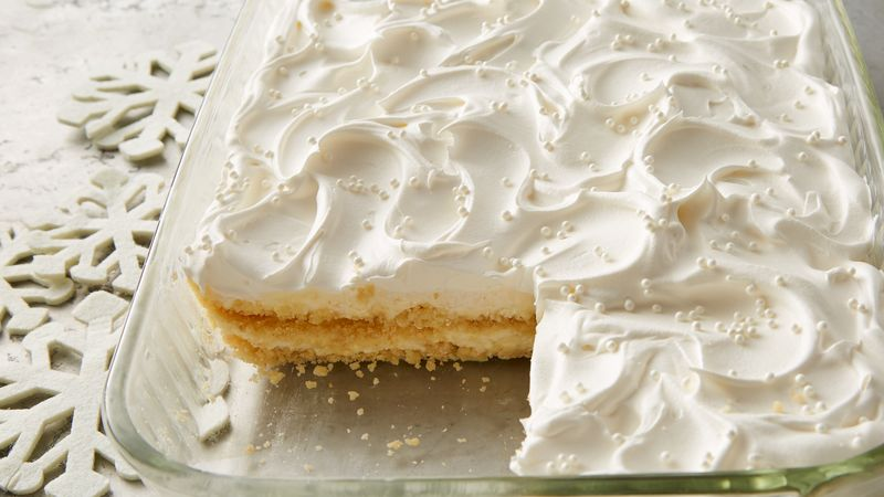 White Chocolate Cheesecake Cookie Lasagna