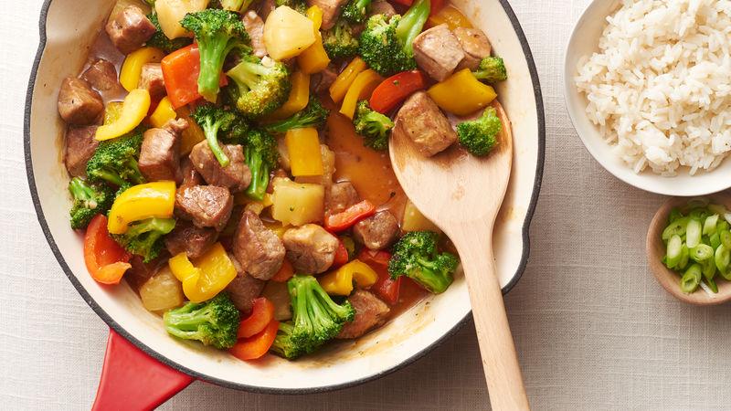 Sweet-and-Sour Pork Stir-Fry