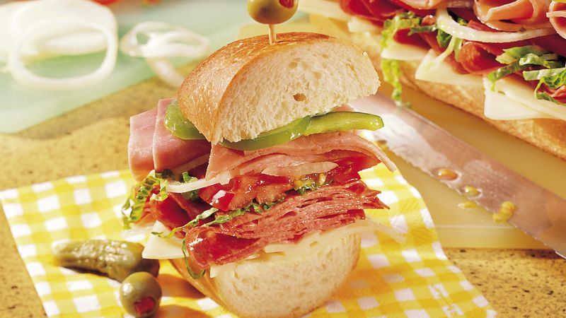 Submarine Sandwich Recipe Bettycrocker Com