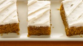 Pumpkin Bars (White Whole Wheat Flour)