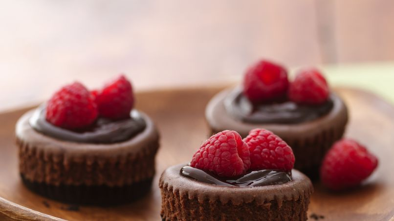 Mini-Cheesecakes de Chocolate