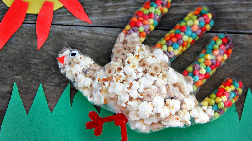 Cereal Turkeys for Kids