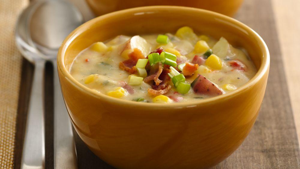 Southwest Potato Corn Chowder