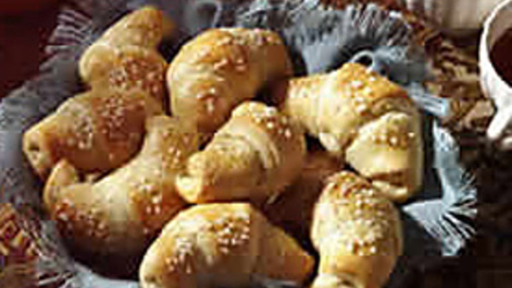 Glazed Pillsbury® Reduced Fat Crescent Dinner Rolls