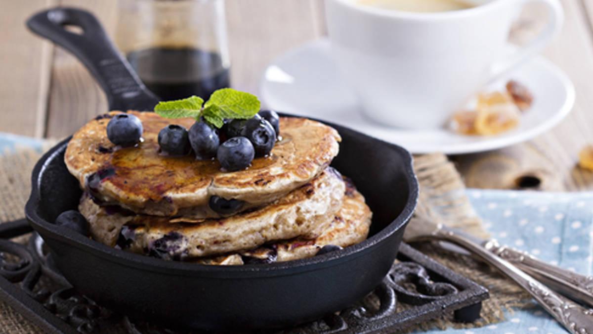 Fibre 1* Blueberry-Bran Pancakes