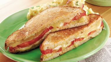 Tomato-Dill Grilled Cheese Sandwiches (Cooking for 2)