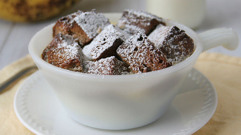 Banana-Bread Bread Pudding