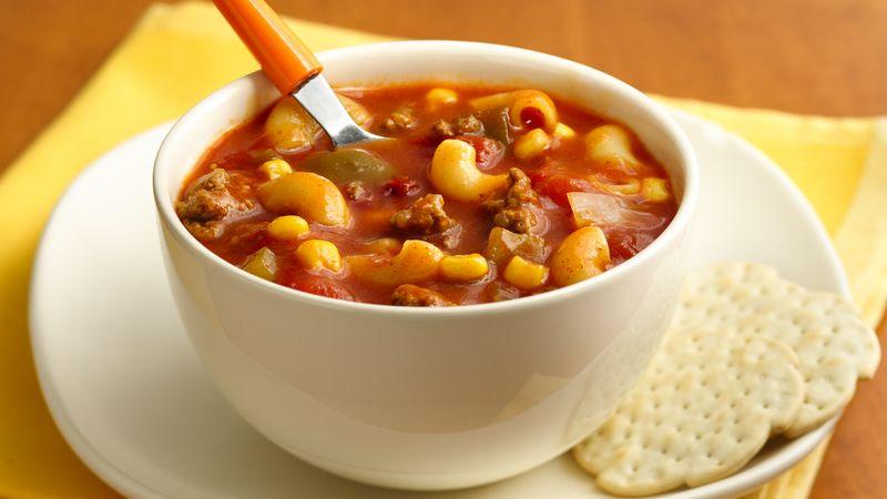 Chili Mac Soup