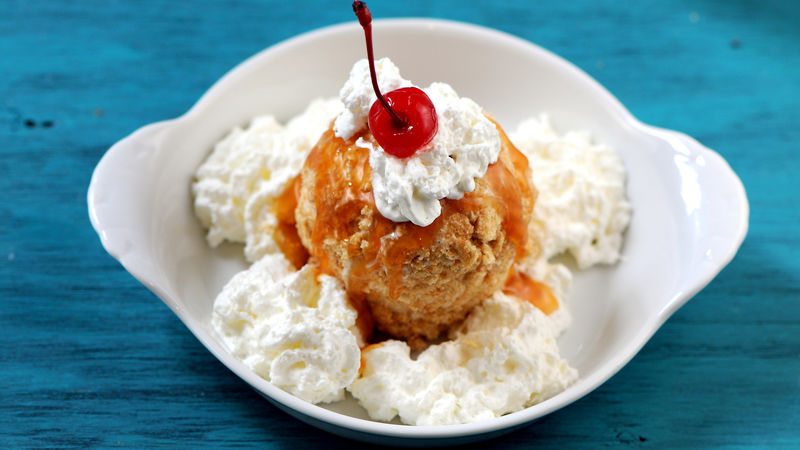"Cinnamon Toast Crunch™ ""Fried"" Ice Cream"