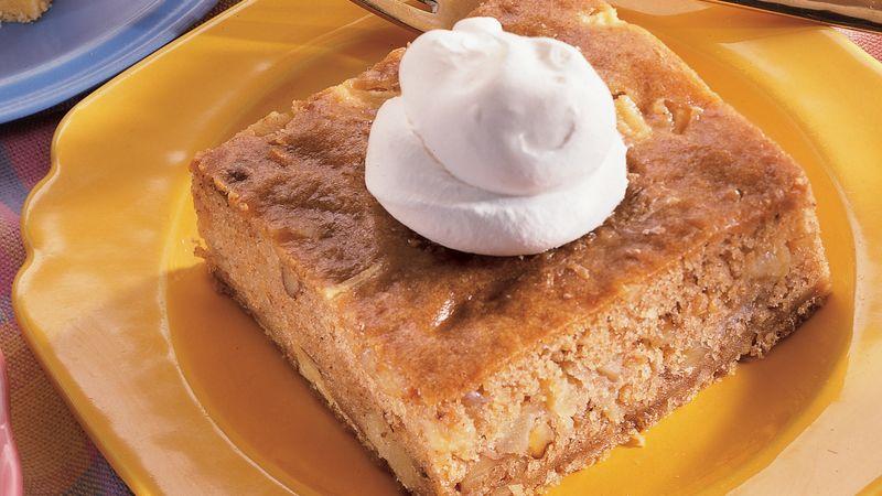 Sour Cream Apple Squares