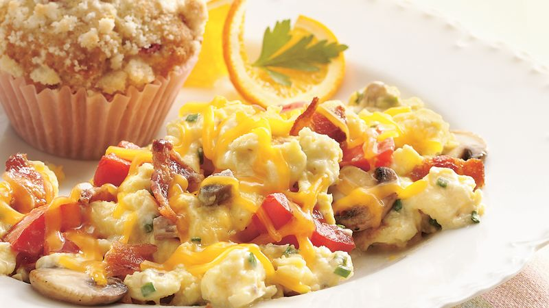 Slow-Cooker Make-Ahead Scrambled Eggs