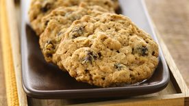 Oatmeal-Raisin Cookies (White Whole Wheat Flour)