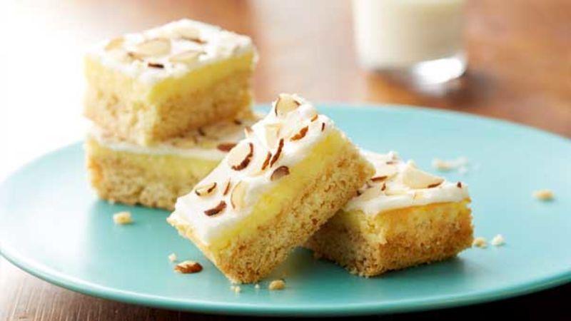 Gluten Free Almond Cream Cheese Bars