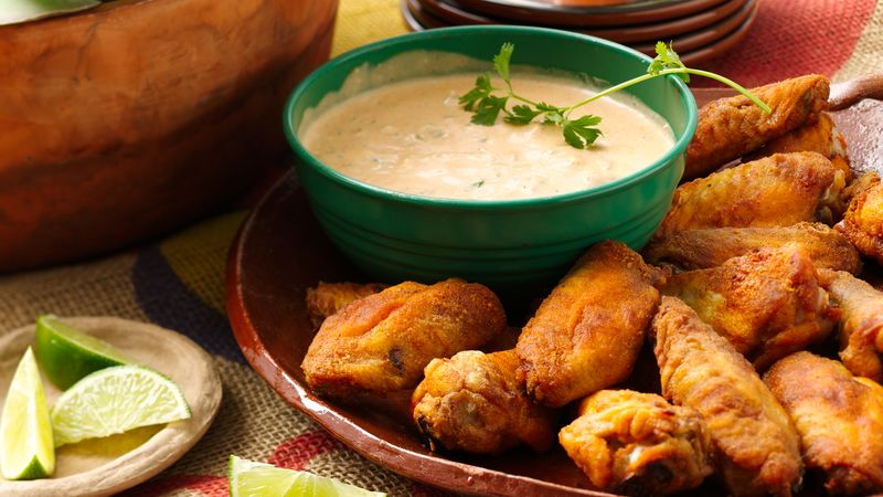 Mexican Baked Chicken Wings