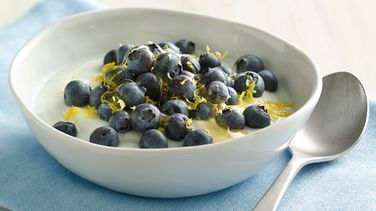 Blueberry-Lemon Coconut Yogurt Bowl