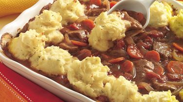 Potato-Topped Oven Swiss Steak