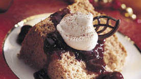 Chocolate-Cherry Angel Cake