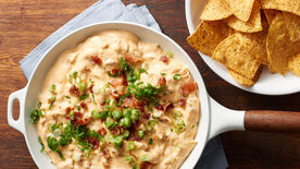Chicken Bacon Ranch Skillet Dip