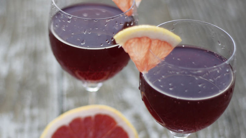 Grapefruit-Flavored Red Wine