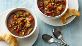 Family Hamburger Soup