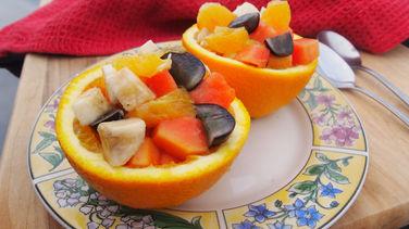 Receta De Ensalada De Frutas Fácil Quericavida Com