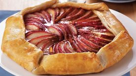 Rustic Pear Crostata