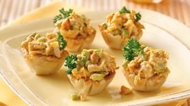 Curried Chicken Salad Cups