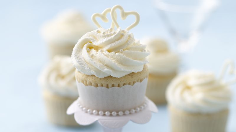 Wedding Cupcakes Recipe   BettyCrocker.com