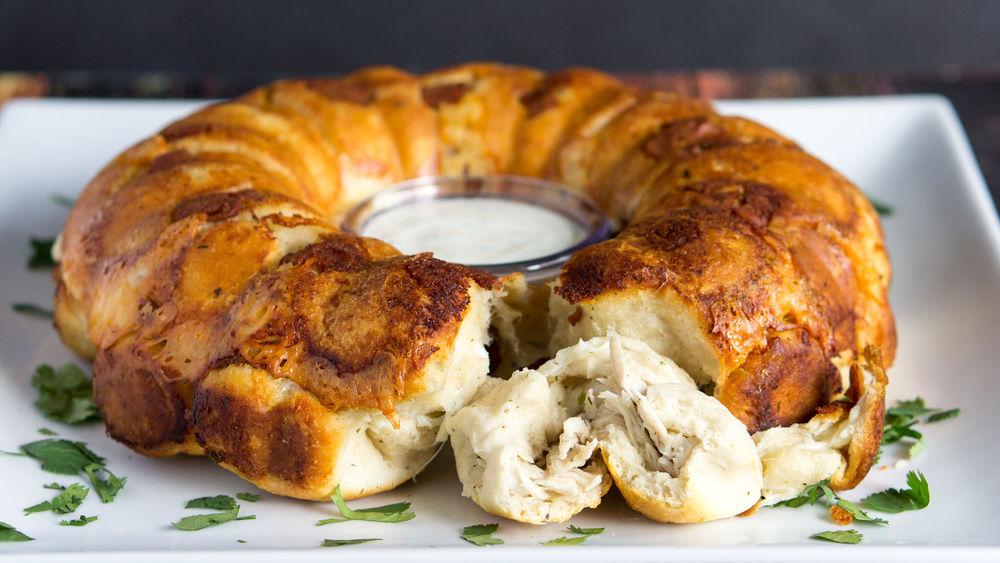 Chicken-Ranch Monkey Bread