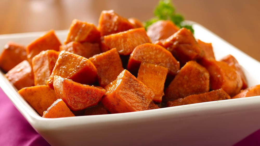 Sweet Potatoes with Cinnamon Honey