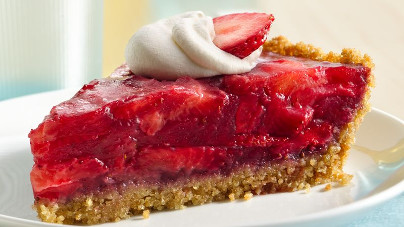 Gluten Free Easy Strawberry Pie Recipe Bettycrocker Com