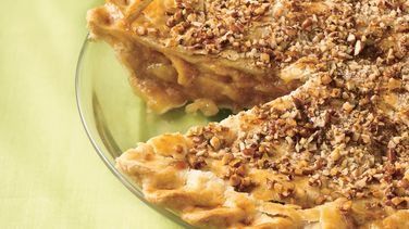 Caramel-Toffee-Apple Pie with Pecans