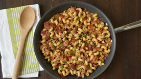 Bacon Cheeseburger Pasta Skillet
