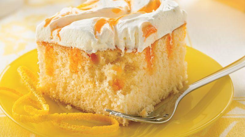 Creamy Orange Cake Recipe Bettycrocker Com