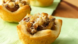 Caramelized Onion and Mushroom Tartlets